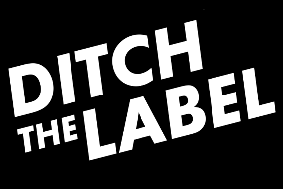 Ditch the label logo
