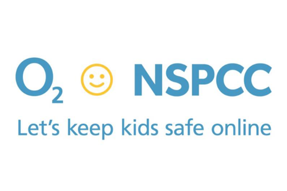 NSPCC and O2 online safety campaign logo