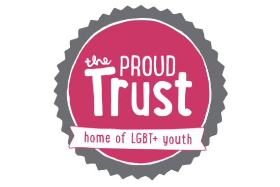 The Proud Trust logo