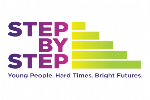 Step by step logo